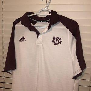 Adidas Texas A&M Polo